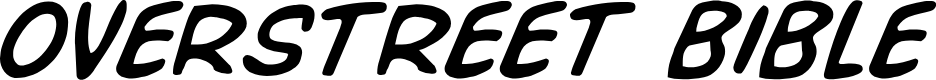 Preview image for Overstreet Bible Italic