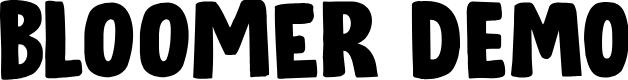 Preview image for Bloomer DEMO Regular Font