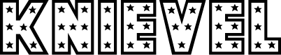 Preview image for Knievel Regular Font
