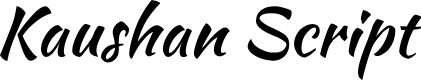 Preview image for Kaushan Script Font