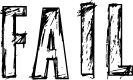 Preview image for fail Font