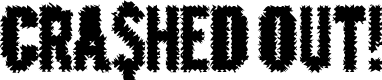 Preview image for CrashedOutDemo Font