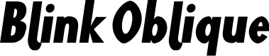 Preview image for Blink Oblique