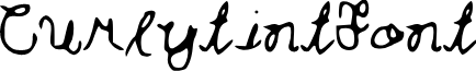 Curlytint_Font