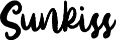 Preview image for Sunkiss Font
