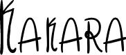 Preview image for Kakara Font