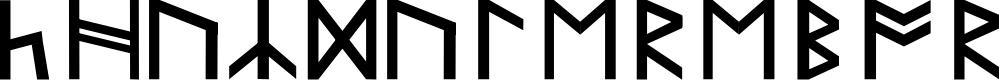 Preview image for KhuzdulErebor Font