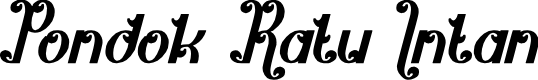 Preview image for Pondok Ratu Intan Font