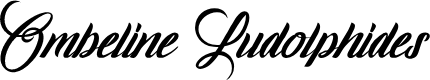Preview image for Ombeline Ludolphides Font