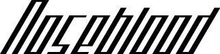 Preview image for Noseblood Font