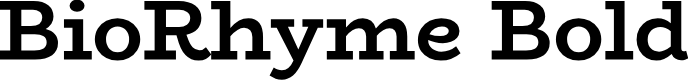Preview image for BioRhyme Bold Font