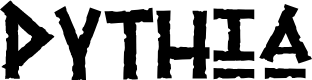 Preview image for Pythia Font