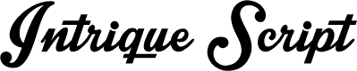 Preview image for Intrique Script Personal Use Font