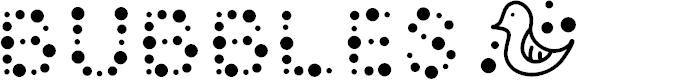 Preview image for Bubble Bath Font