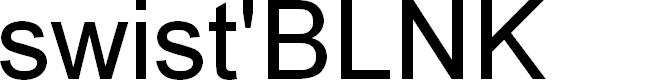 Preview image for BLNKTaperLucker Font