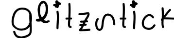 Preview image for Glitzstick Font