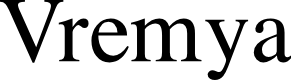 Preview image for VremyaFWF Font