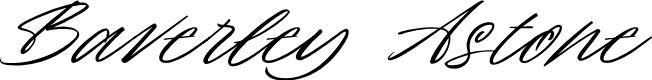 Baverley Astone by Letterhend Studio