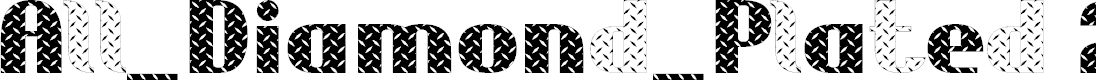 Preview image for All_Diamond_Plated 2.0 Font