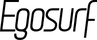 Preview image for Egosurf Font
