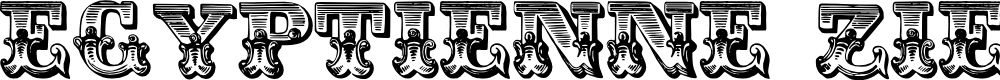 Preview image for Egyptienne Zierinitialien Font