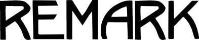 Preview image for Remark Regular Font