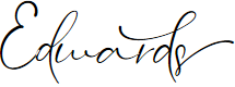 Preview image for Edwards Font