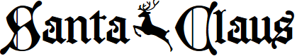 Preview image for Santa Claus PERSONAL USE ONLY Font