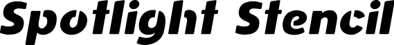 Spotlight DEMO Italic