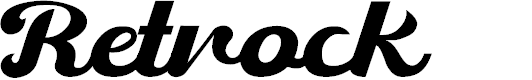 Preview image for Retrock Font