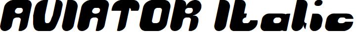 AVIATOR Italic