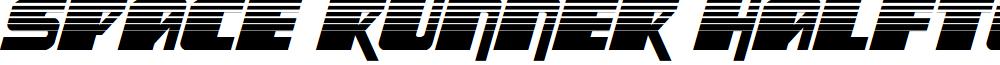 Space Runner Halftone Italic