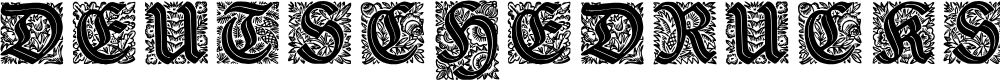 Preview image for Druckschrift-Initialen