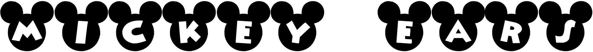 Mickey Mouse Free Fonts Fontspace