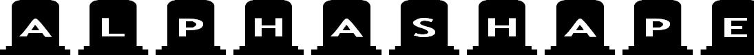 Preview image for AlphaShapes gravestones Font
