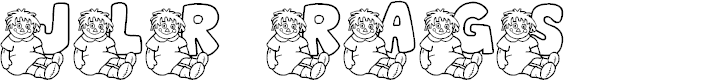 Preview image for JLR Rags 1 Font