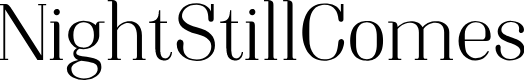 Preview image for NightStillComes Font