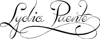 Preview image for Lydia Puente) Font