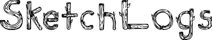 Preview image for SketchLogs Font