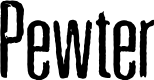 Preview image for Pewter Font