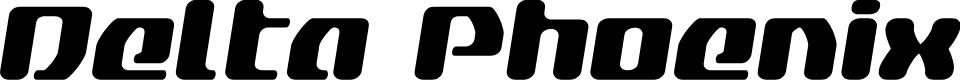 Preview image for Delta Phoenix Semi-Italic