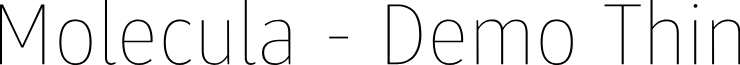 Molecula - Demo Thin