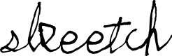 Preview image for skeetch Font