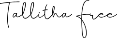 Preview image for Tallitha Free Font