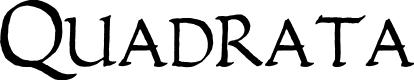 Preview image for Quadrata Font