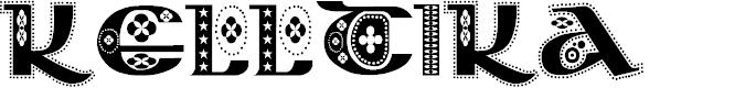 Preview image for Kingthings Kelltika Font
