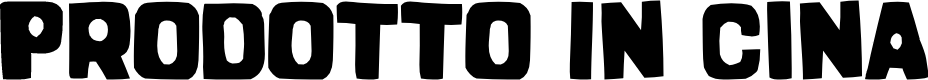 Preview image for Prodotto In Cina Font