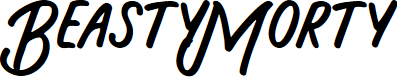 Preview image for BeastyMorty Font