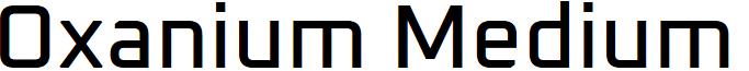 Oxanium Medium