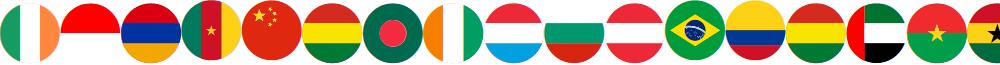 flags color font